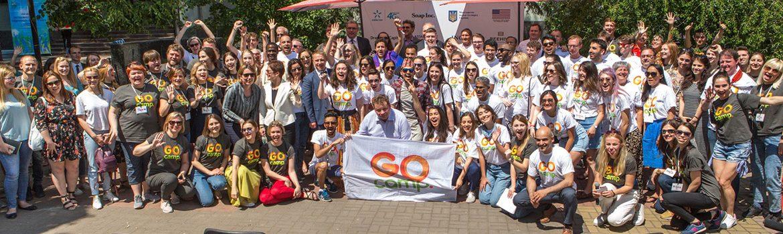 З 2 по 5 червня під Києвом відбувається з їзд сотні іноземних волонтерів  першої хвилі GoCamp 4c22172375768